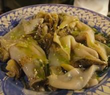 Siebfood – Inktvis met radicchio