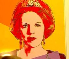 Beatrix in Rotterdam